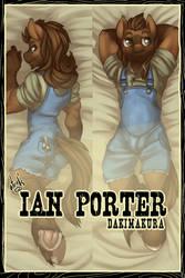Ian Porter Dakimakura - PREORDER
