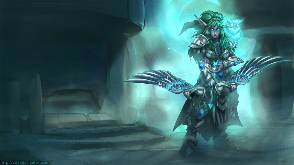 Tyrande Whisperwind By Atryl