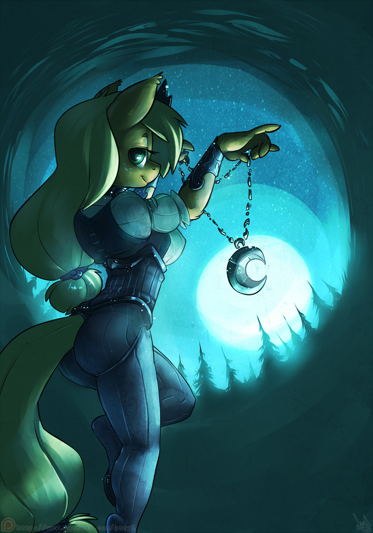 Moon Pendant by atryl