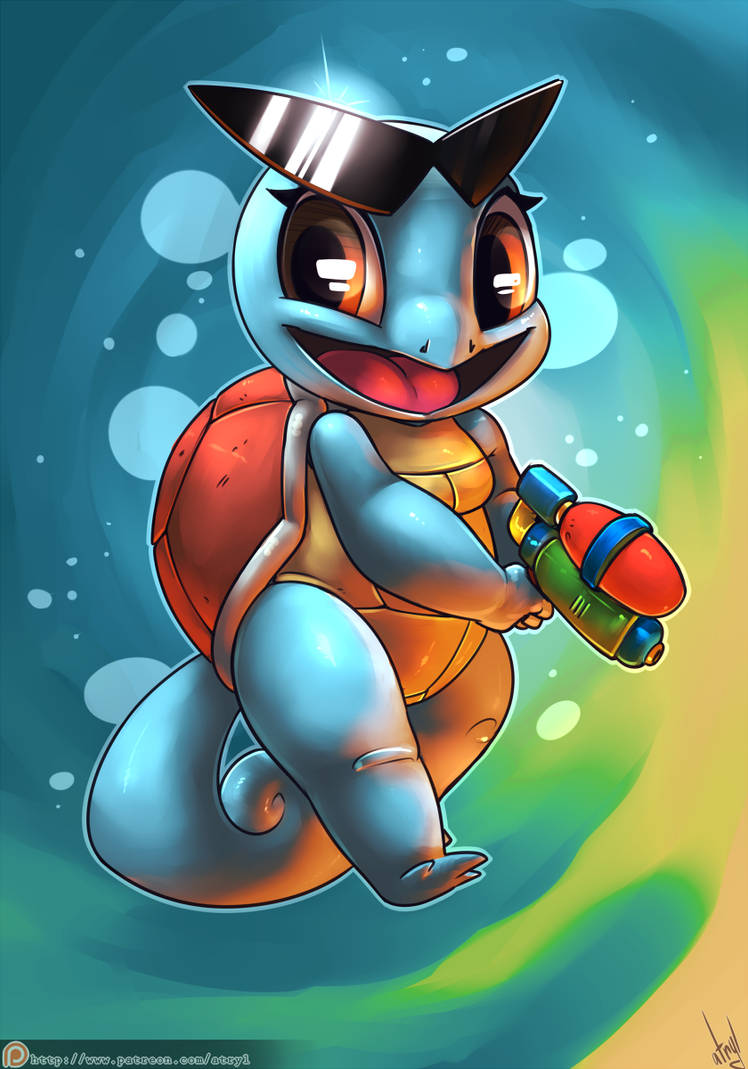 Squirtle by atryl