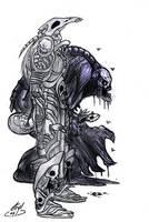Diablo II - Necromancer by atryl