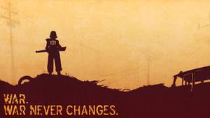 War never changes.