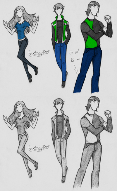 ReDesign Contest 2 by SketchyRae