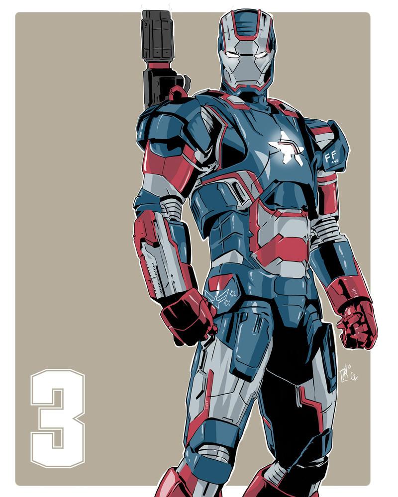 iron patriot by 117art on deviantart