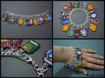 Legend of Zelda Seed Bead Charm Bracelet 2