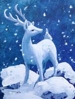 Roe Deer by GlauxBryonia