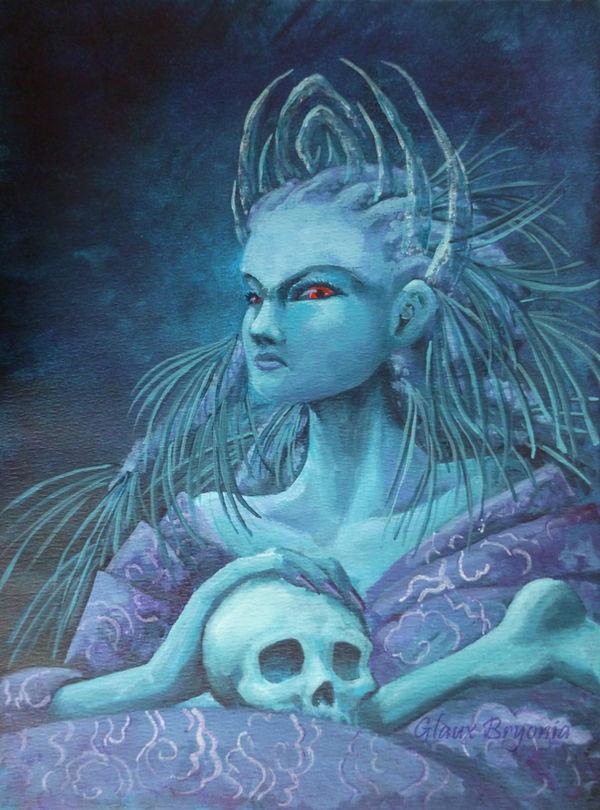 Nightmare Princess by GlauxBryonia
