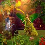 Green Leaves Fairy