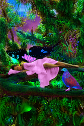 In The Jungle The Mighty Jungle The Faerie Sleeps