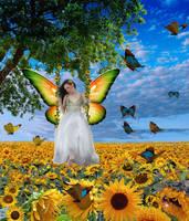 My Sweet Sunflower by ilovemyhusky
