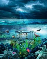 The Sea Gods Domain by ilovemyhusky