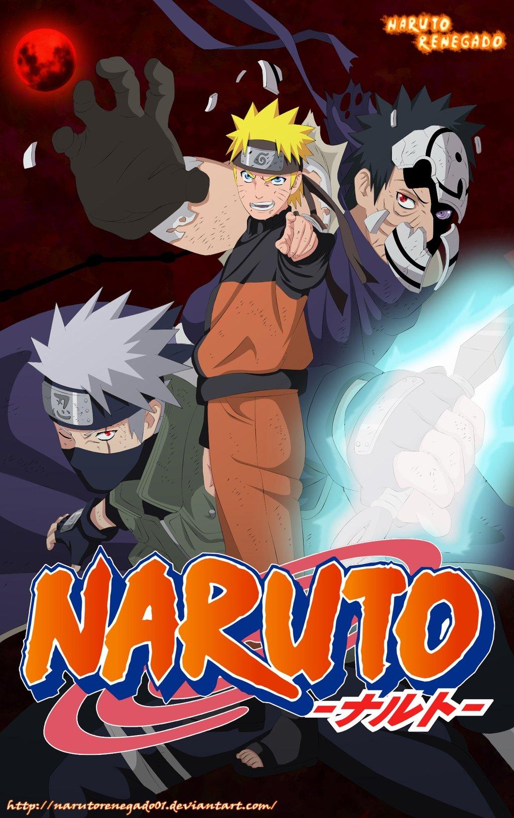 Naruto Cover 63 by NarutoRenegado01