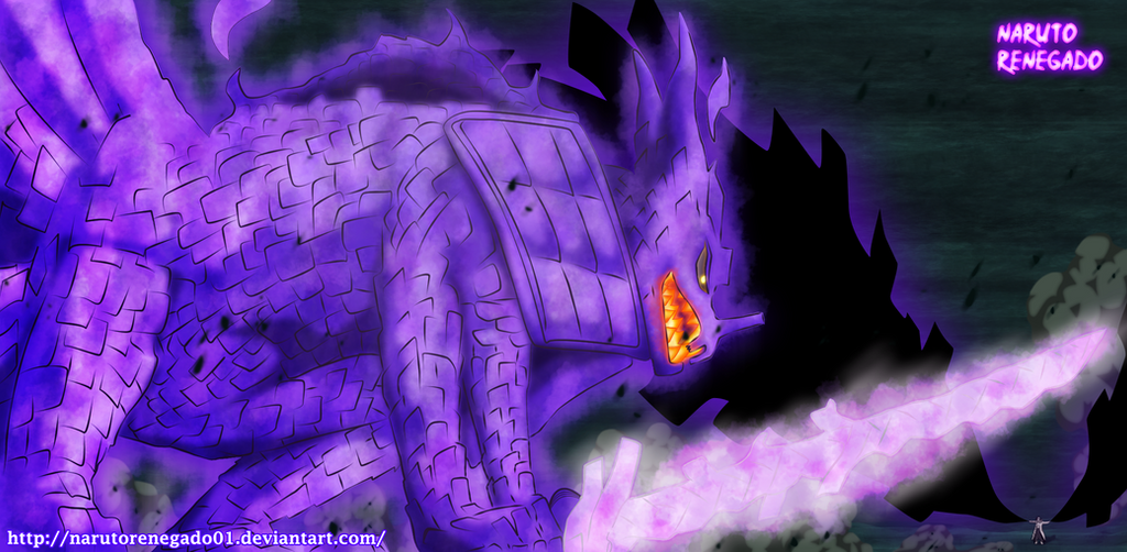 Naruto 651: Kyubi Susano Armor by NarutoRenegado01