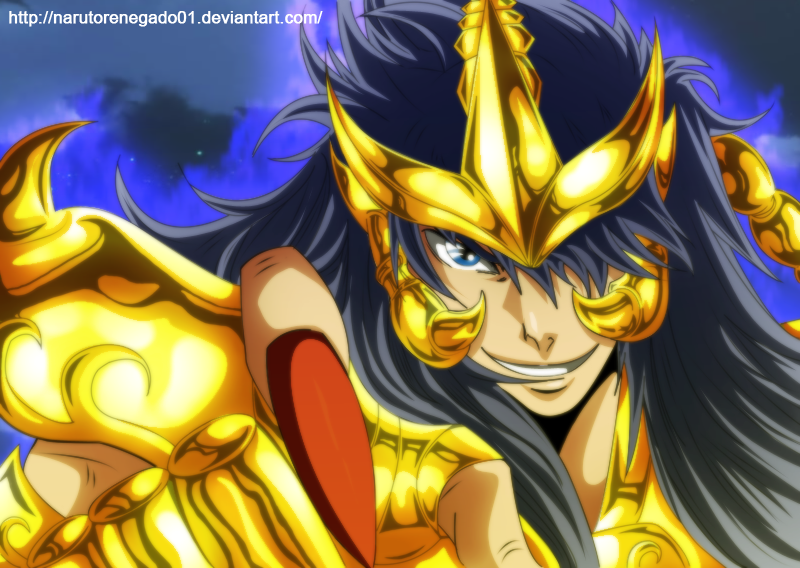Saint Seiya The Lost Canvas: Scorpion no Kardia by NarutoRenegado01
