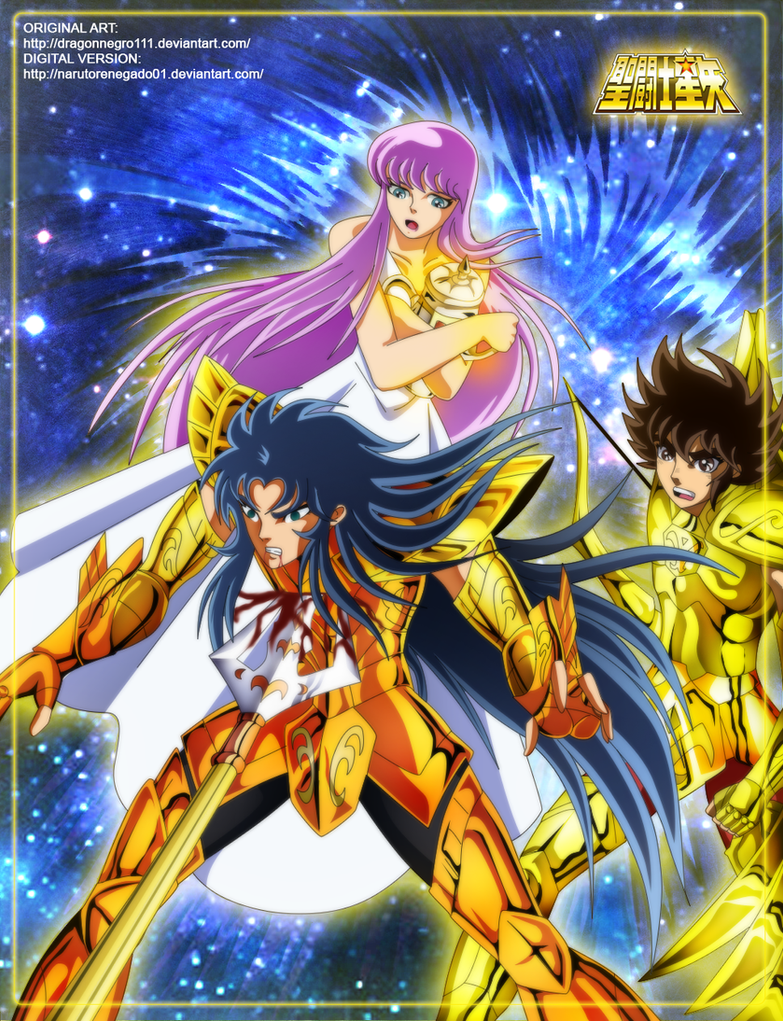 Saint Seiya The Saga of Poseidon: The sacrifice by NarutoRenegado01