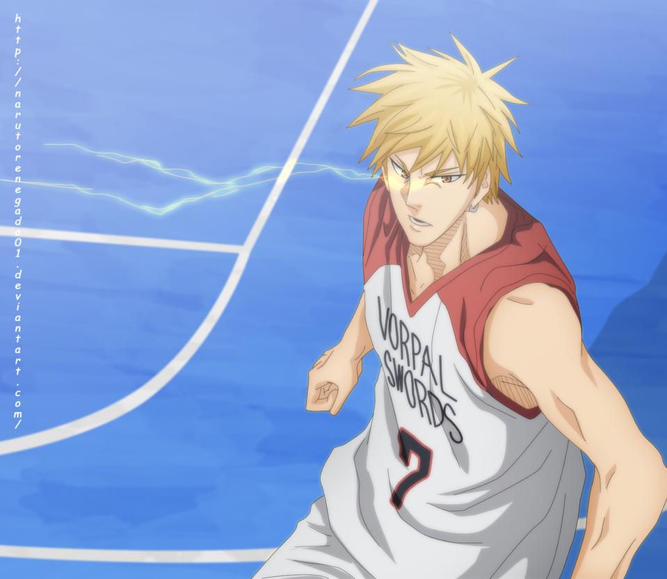 Kuroko no basket Extra Game 5: Kise in The zone by NarutoRenegado01