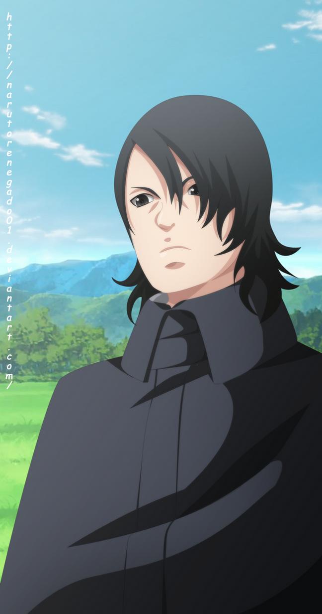 Naruto Next Generation Sasuke Uchiha Ikemoto style by NarutoRenegado01