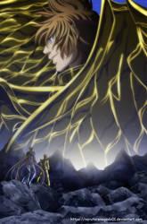 Saint Seiya The lost Canvas 130: like a shield by NarutoRenegado01