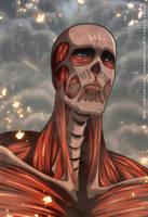 Shingeki no Kyojin 104: The colossal titan by NarutoRenegado01