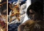 Shingeki no Kyojin 104: back to the battle