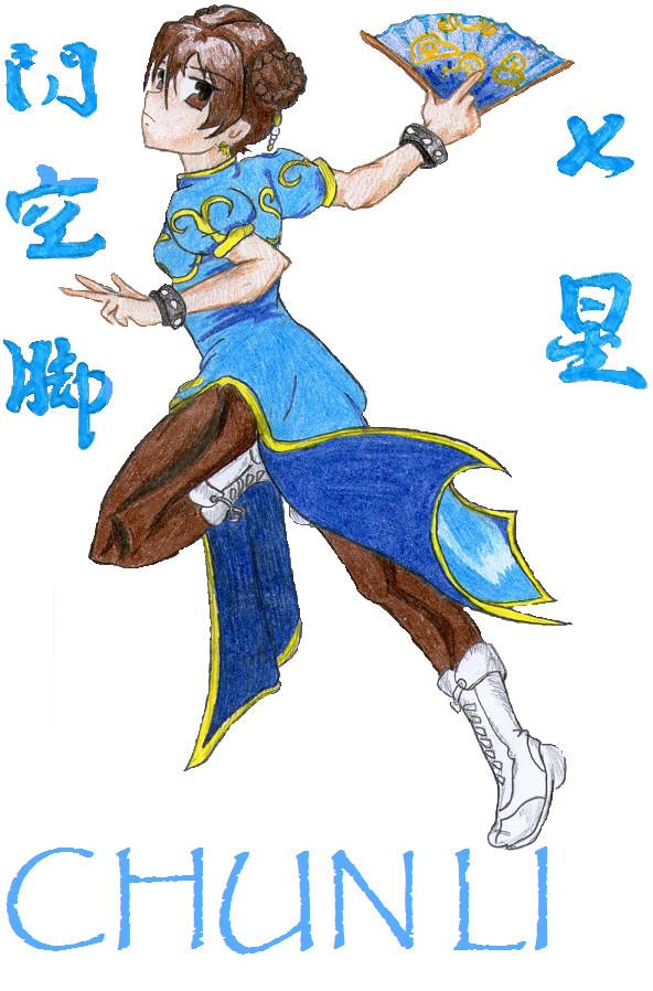 Chun_Li (Street.Fighter) by Oilbhe