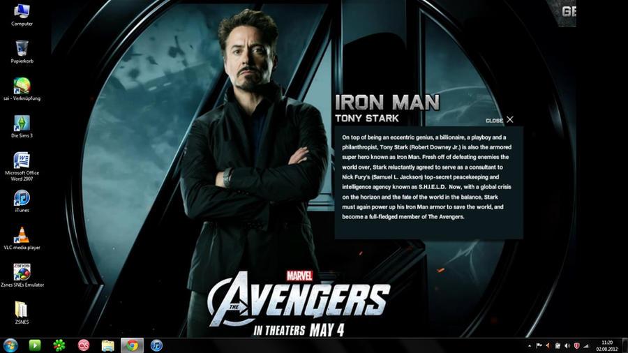 tony stark avengers wallpaper - photo #21