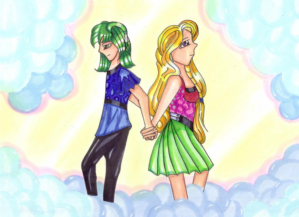 Seline and Russel by Nakayoshi-Takashima
