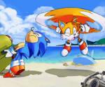 You're no HEELP!! - Sonic OVA redraw