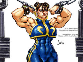 Chun-Li Colors by Jebriodo by elee0228