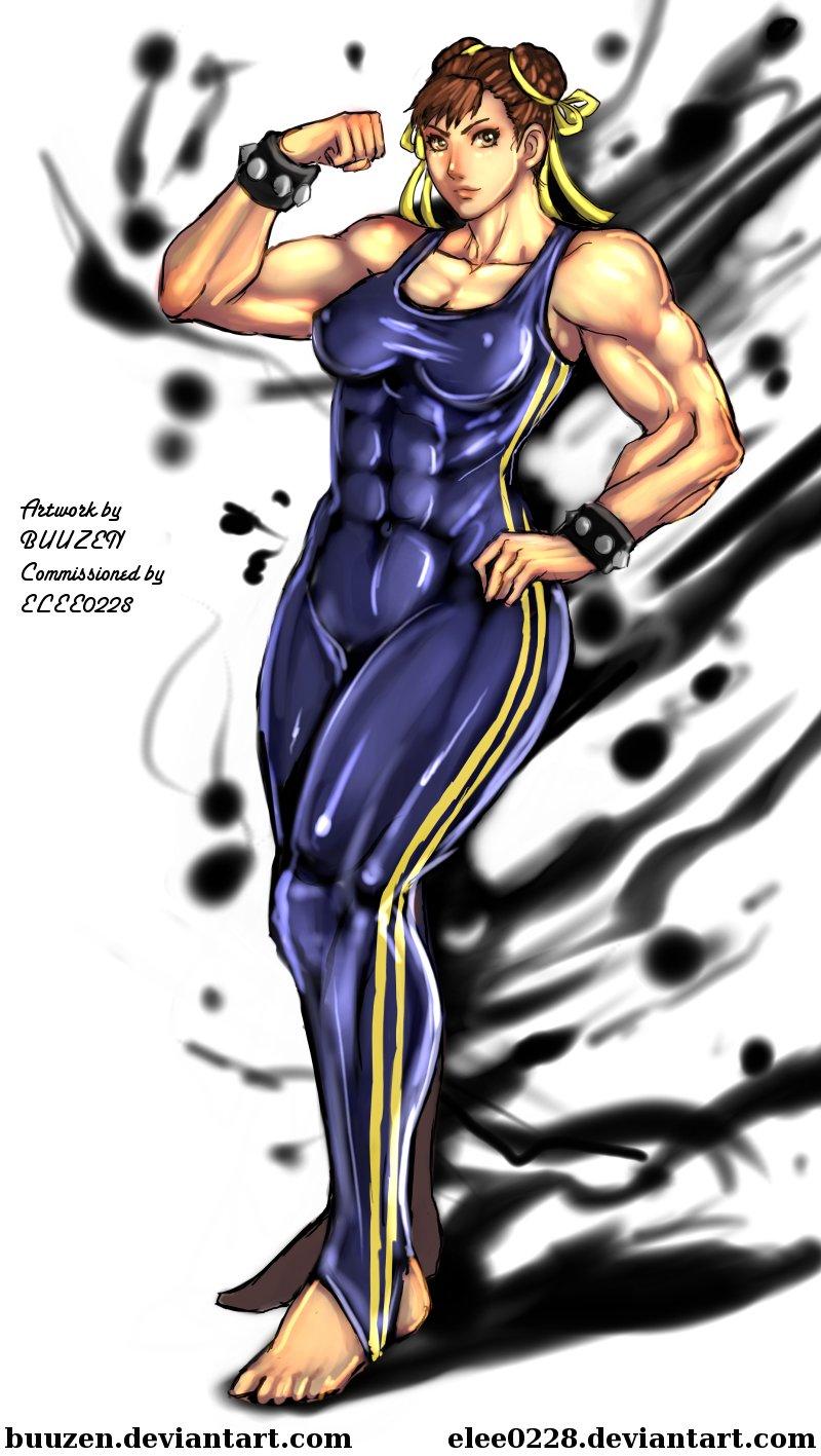 Muscle Chun-Li by Buuzen by elee0228 on DeviantArt