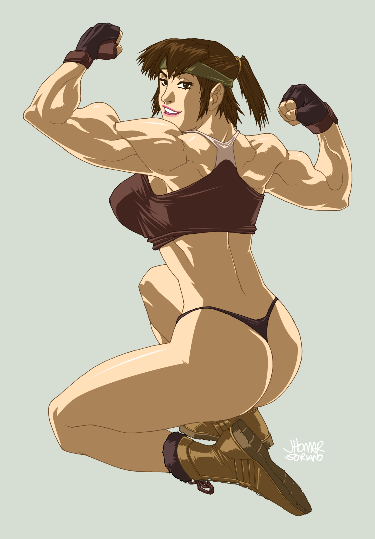 Akiko Daimon by ScruffyRonin by elee0228