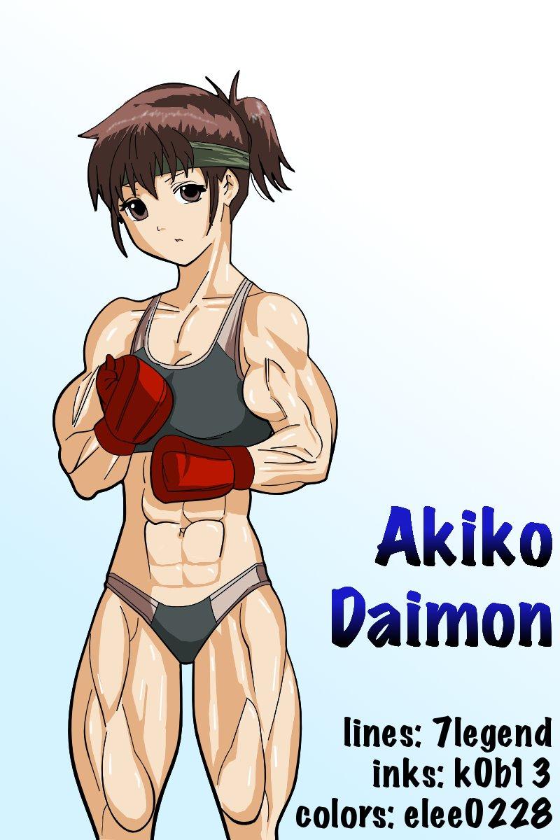 Akiko Daimon by 7legend by elee0228