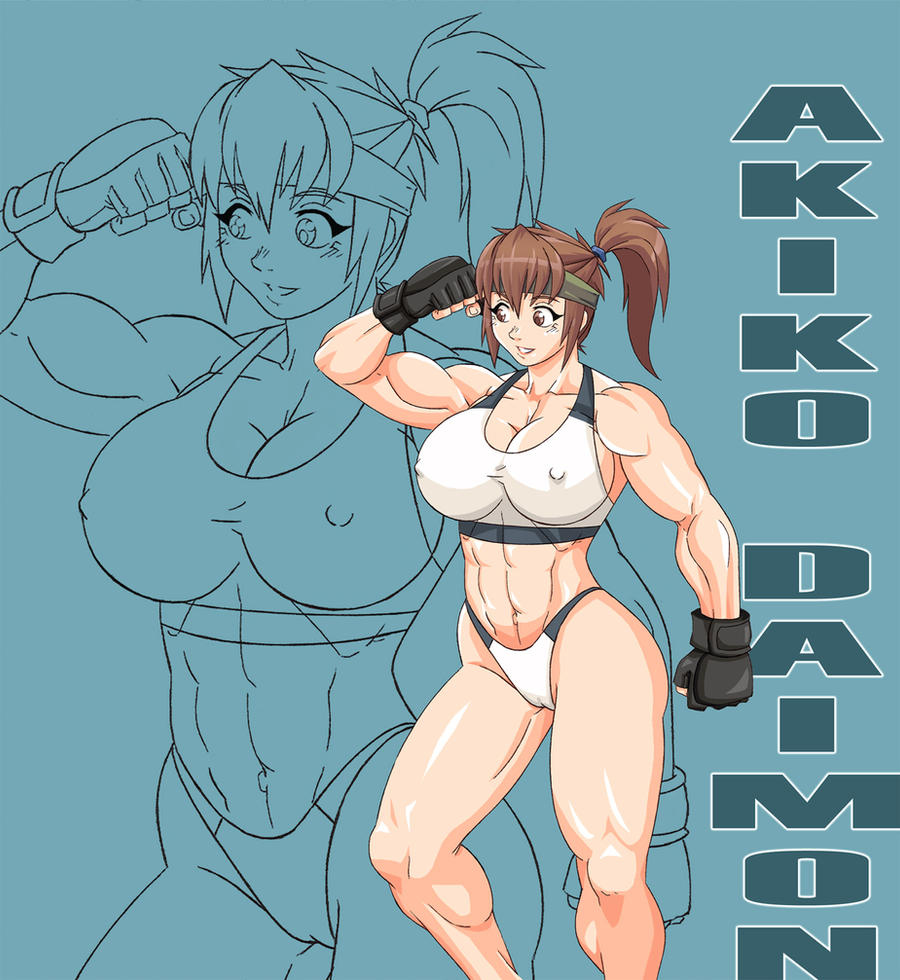 Akiko Daimon by Devil-V by elee0228