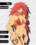 Manga Muscle Girl Risty