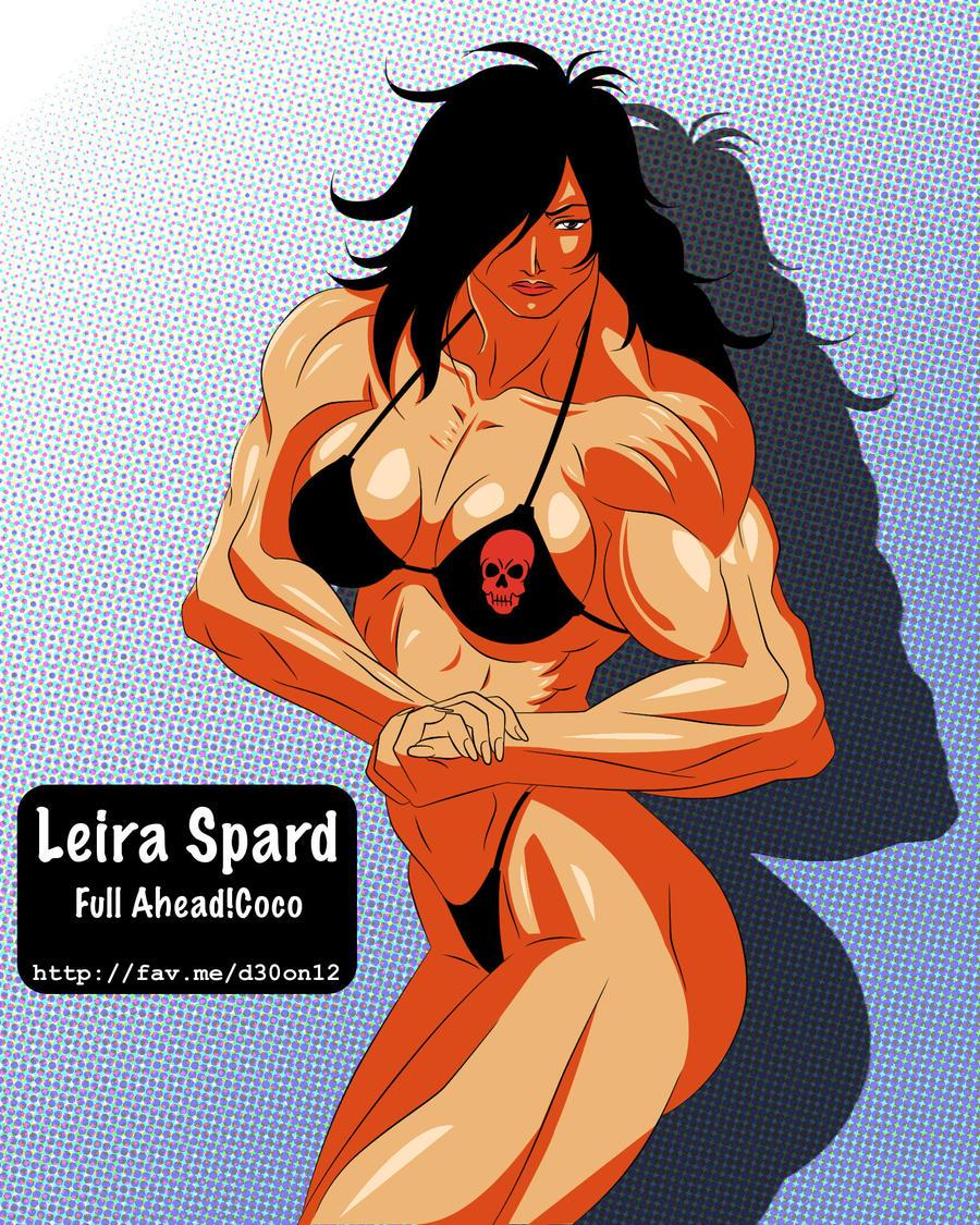 Manga Muscle Girl Leira by =elee0228 on deviantART