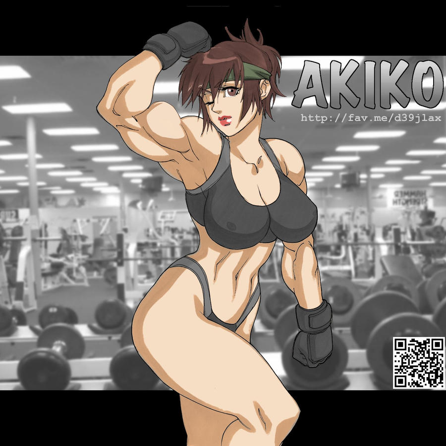 Muscle -Daikon by elee0228
