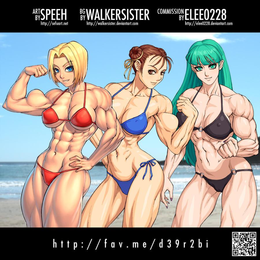 Amateur nude girls on beach