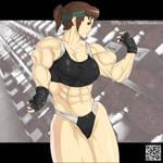 Akiko Daimon by black-tsundere