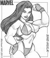 She-Hulk -icemaxx1 by elee0228