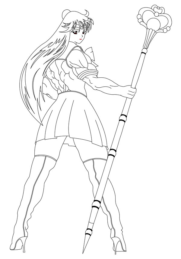 Oblivionpar: Sailor Pluto by elee0228