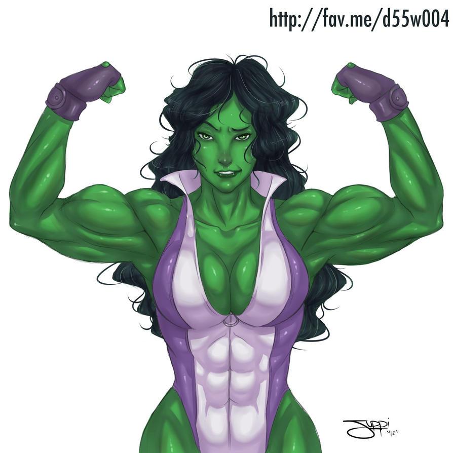She-Hulk by itsjustsuppi by elee0228