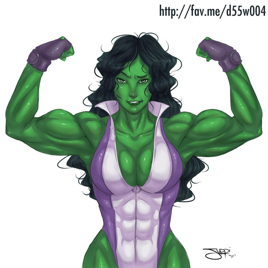 She-Hulk by itsjustsuppi by elee0228