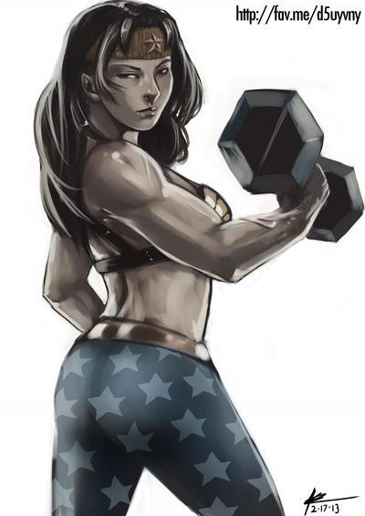 Wonder Woman by elee0228