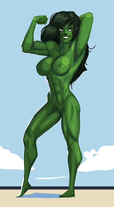 She Hulk Nude