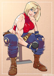 Blue Mary by elee0228