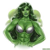 She Hulk by elee0228