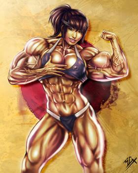 Akiko Daimon Muscle Girl