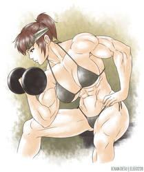 Akiko Daimon by elee0228