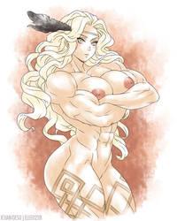 Amazon Nude by elee0228