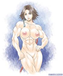 Yuna Nude (Final Fantasy X-2) by elee0228